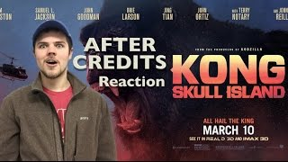 Kong Skull Island end credits scene reaction