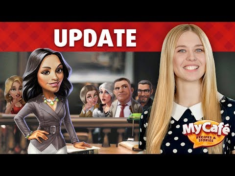 My Cafe: Meet New Characters in Update 2017.8!