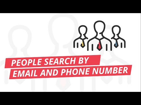People search by email or phone number Basic OSINT