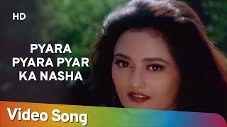 Pyara Pyara Pyar Ka Nasha HD Manchala 1999 Vivek Mushran Gauri Khopkar Hindi Song