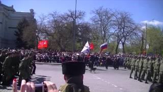 9 мая 2015 День победы, парад в Евпатории.(9 мая 2015 День победы, парад в Евпатории., 2015-05-09T21:44:48.000Z)