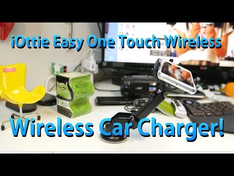 Wireless Qi Car Mount for Galaxy S6/S6 Edge! [iOttie Easy OneTouch Wireless]