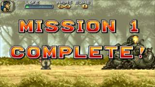 [GBA] Metal Slug Advance Прохождение / Walkthrough