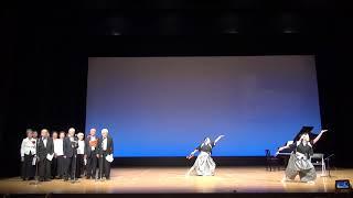 吟舞と琵琶演奏で「白虎隊」 桶川市主催「芸能の広場」参加「詩吟・吟舞...