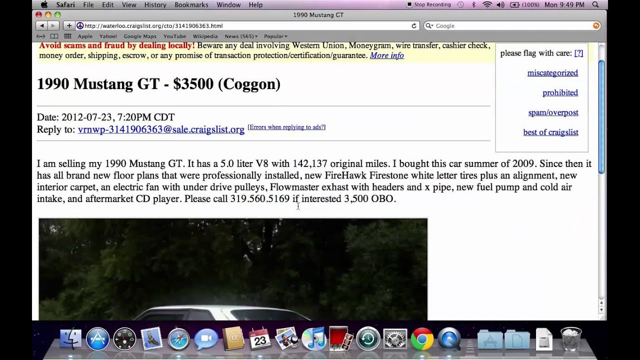 Craigslist cedar falls iowa cars and trucks used cars for sale by owner in late 2012 youtube