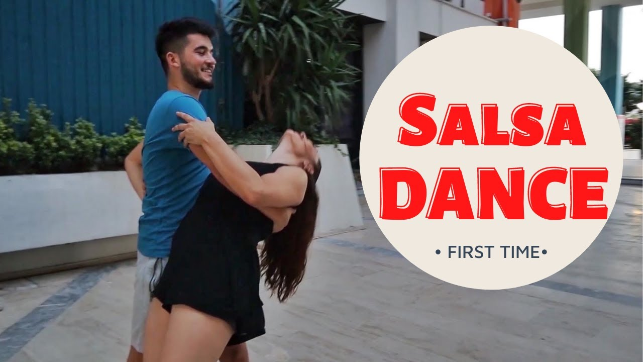 I'm Learning How To Salsa Dance !! ( It was so fun )