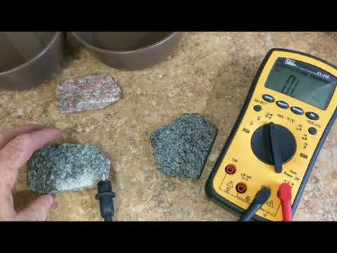 Discussion on conductive properties of granite and their rol