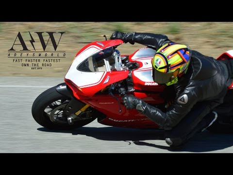 PANIGALE R FOLLOWS 999S ON ACH