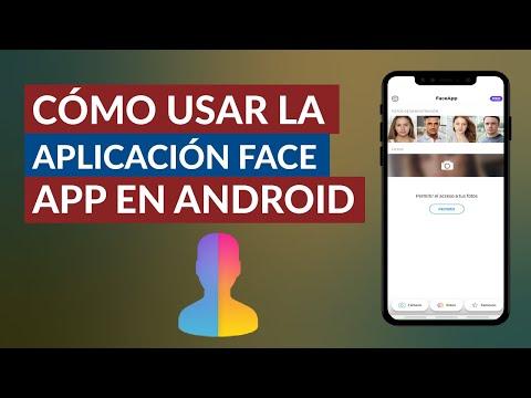 Cómo usar la Aplicación Face App para Envejecer Rostros Gratis en Android