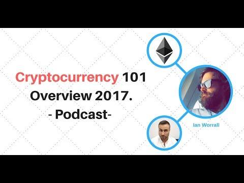 Cryptocurrency 101 Overview 2017.