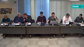 Ajuntament de Calafell: sessió plenària ordinària, 9 d'abril de 2018