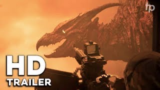 TRAILER GODZILLA KING OF THE MONSTERS BEAUTIFUL TEASER TV SPOT LARGE REACTION VIDEO REACCION