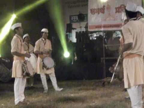 samartha pratishtha in sakal dhol tasha competion