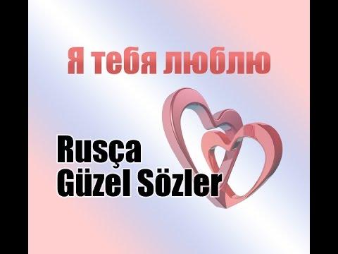 Rusça Aşk Cümleleri Youtube
