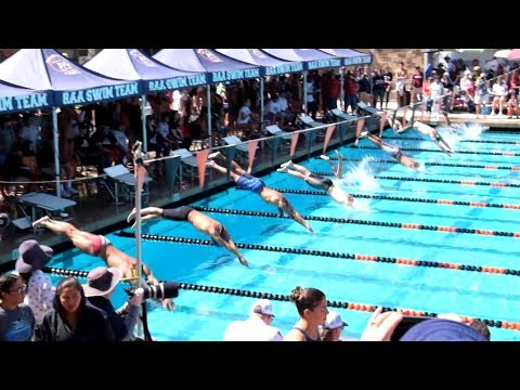 2018 CIF-SS Swimming Division 4 Prelims - Boys 50 Yards Freestyle