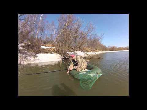 ловля щуки на реках ранней весной