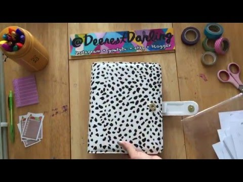 The Day Designer A5 Black Spotty Binder + Signature Inserts \\ Product Review