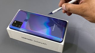 Samsung A21s Unboxing & Camera Test