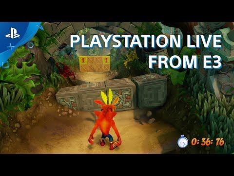 Crash Bandicoot N. Sane Trilogy Gameplay Interview | E3 2017