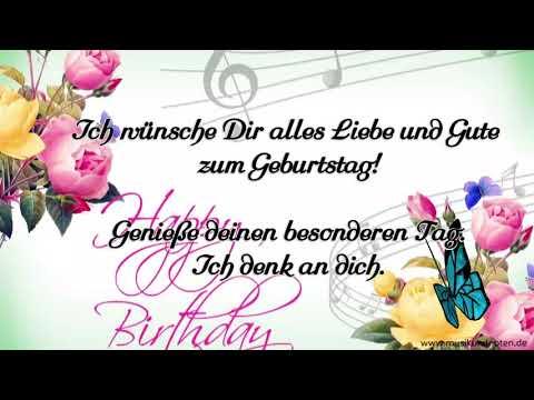 Ich Wunsche Dir Alles Liebe Und Gute Zum Geburtstagshase