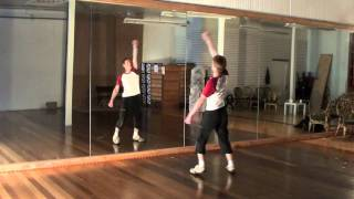 Michael Jackson Thriller Dance Tutorial 4/4 (With Music Full Speed)