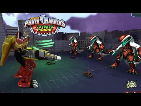 Power Rangers Dino Charge Rumble   DINOSAUR MIGHT, READY TO FIGHT Challenge!