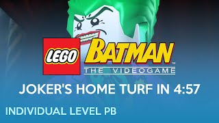 WR 4:57 | Joker's Home Turf | LEGO Batman: The Videogame