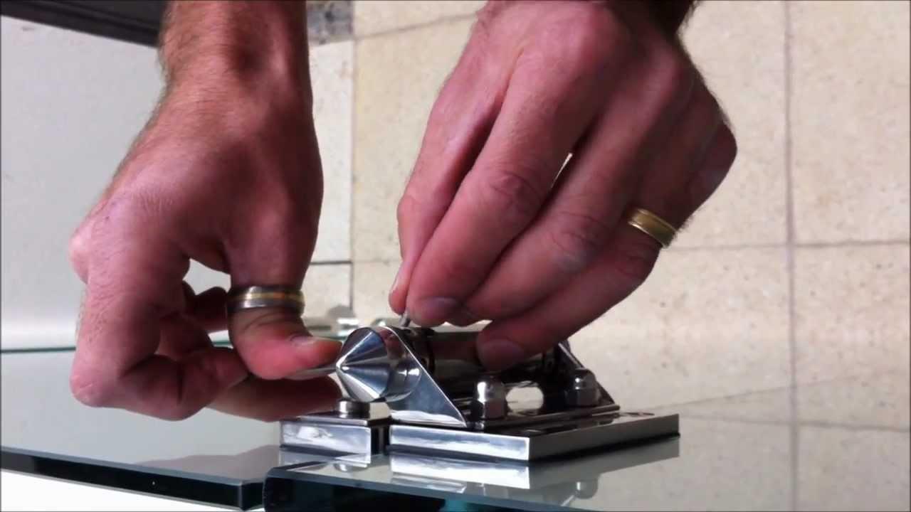 How To Adjust Spring Hinge Gate Adelaide Frameless Glass Youtube