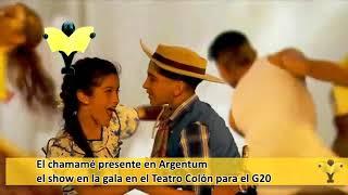 El chamamé presente en la gala del Teatro Colón Argentum