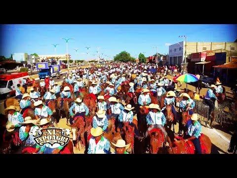 Cavalgada abre a 40ª EXPOAGRA 2017 em Grajaú.