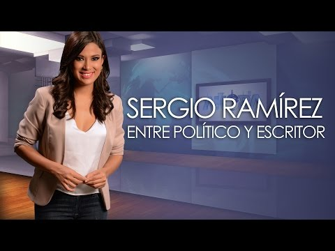 Sergio Ramírez Entre el Político y el escritor - AHORA  1/3