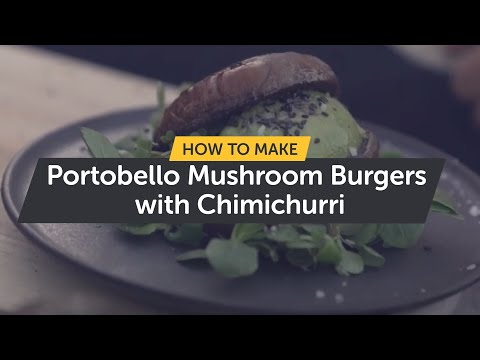 Ooni Explores | Portobello Mushroom Burgers With Chimichurri