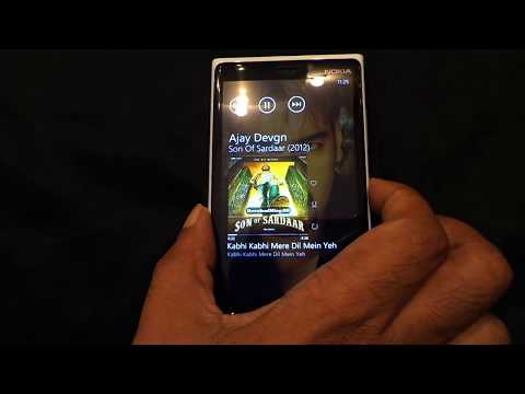 Playing Music Artist's Image on Lock Screen for Nokia Lumia