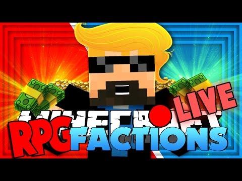 Minecraft: RPG Factions | DONALD TRUMP MILLIONAIRE!! [12]