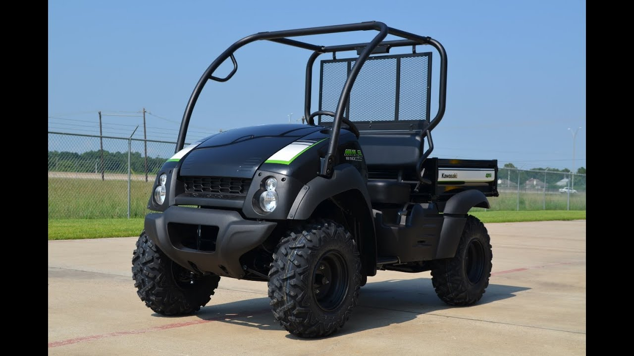 $8499 2015 Kawasaki Mule 610 XC in Super Black Overview and Review