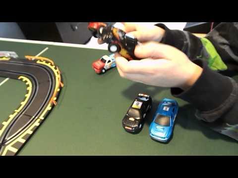 Toys R Us Fastlane Long Bridge Challenge Slot Car Set REVIEW AND TIPS!!