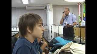 Estudantes visitam Câmara de Vereadores de Florianópolis
