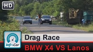 Bmw X4 Xdrive30d Vs Daewoo Lanos