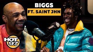 Biggs Burke Return to Management + Saint JHN Explains His Path to a Mint Green Moncler Coat