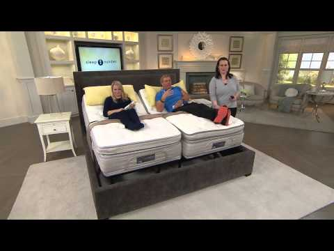 Sleep Number Special Edition w/ADAT SK Adjustable Mattress Set with Rick Domeier