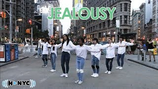 [KPOP IN PUBLIC CHALLENGE NYC] MONSTA X (몬스타엑스)  - JEALOUSY Dance Cover