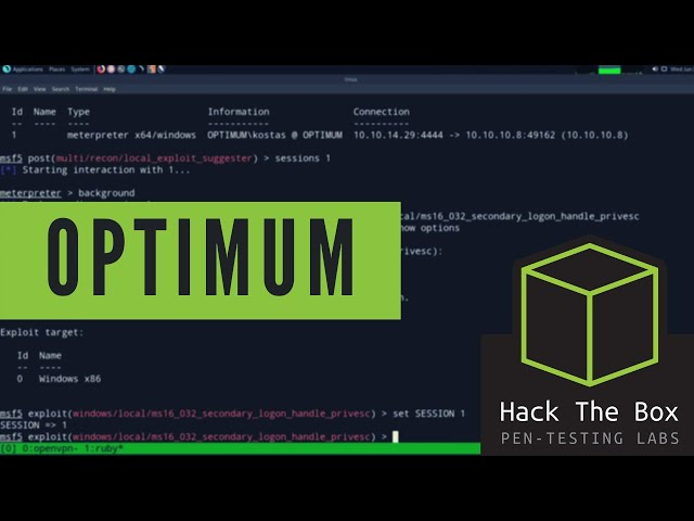 HackTheBox Walkthrough - Optimum