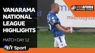 National League Highlights Show - Matchday 12