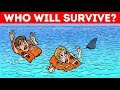 🤯 RIDDLES YOU HAVE TO SOLVE TO STAY ALIVE! Hard Choice Riddles To Test Your General Knowledge