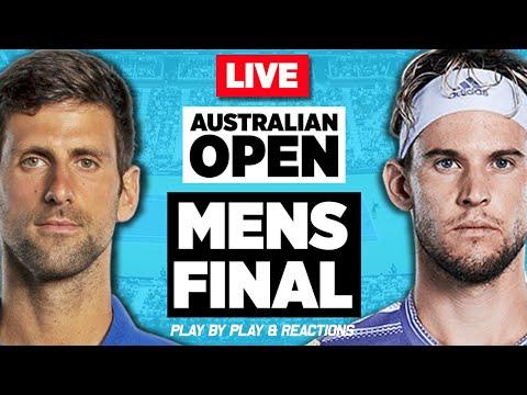 🔴 DJOKOVIC Vs THIEM | Australian Open 2020 Final | LIVE Tennis Stream Play-by-Play