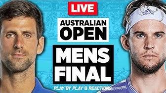 🔴 DJOKOVIC vs THIEM   Australian Open 2020 Final   LIVE Tennis Stream Play-by-Play