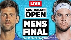 🔴 DJOKOVIC vs THIEM | Australian Open 2020 Final | LIVE Tennis Stream Play-by-Play