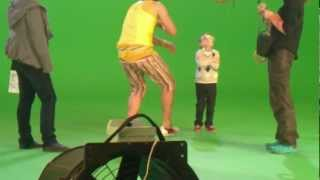 Съёмки клипа группы USB Comedy Club. Глеб Сердюков