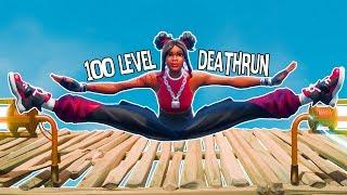 100 LEVEL DEATHRUN | Fortnite Creative Mode