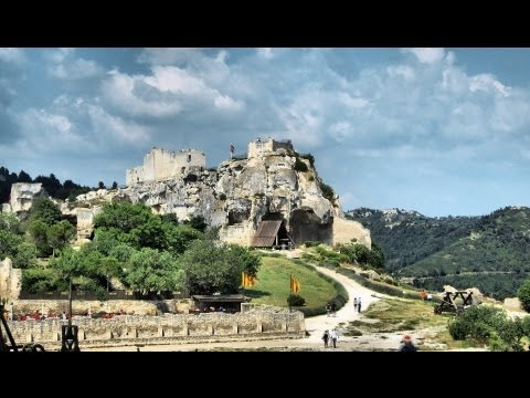 Les Baux de Provence - The Castle, Provence, France [HD] (videoturysta)